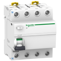A9V41425 Блок дифф. защиты  vigi ic60 4п 25A 30mA  AC-тип , Schneider Electric